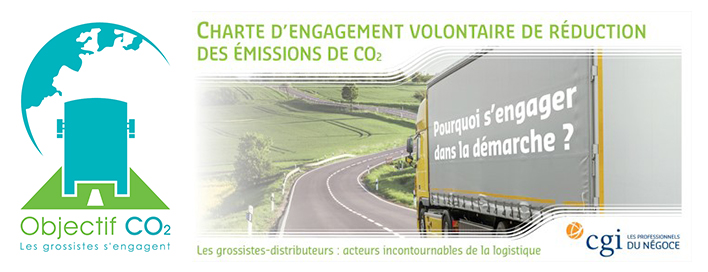 Charte objectif CO2 : les grossistes s'engagent